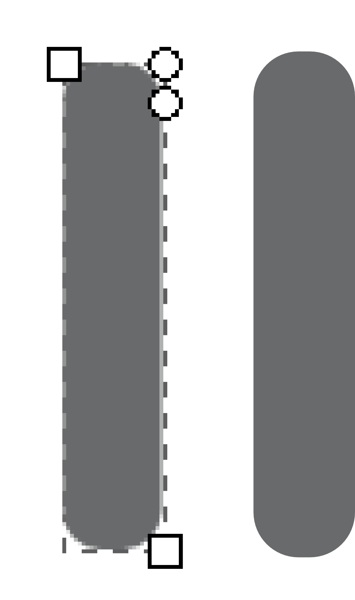 step 4 for tutorial, illustration of rounded rectangle