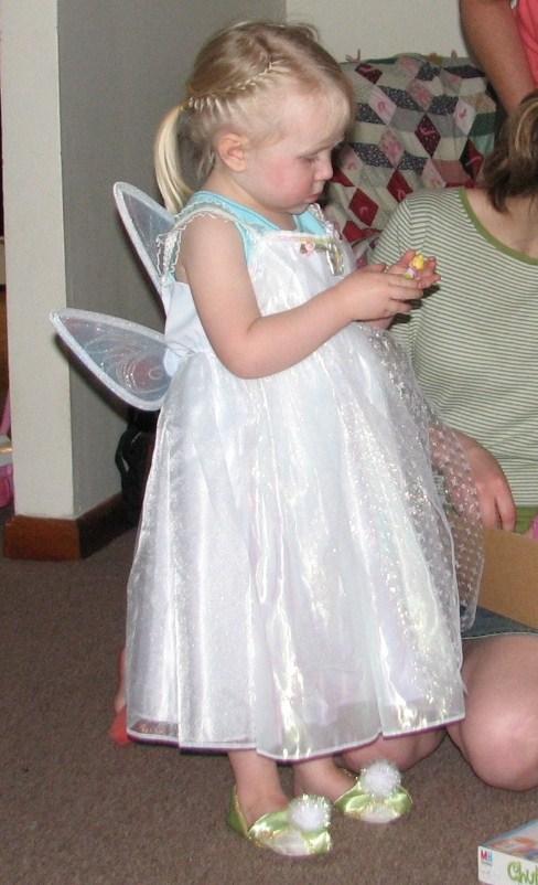 Photo of ittle girl dressed like fairy