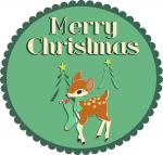 Merry Christmas Fawn