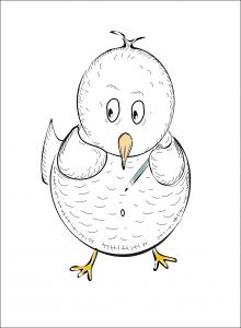 Eye Draw It Bird Sketched